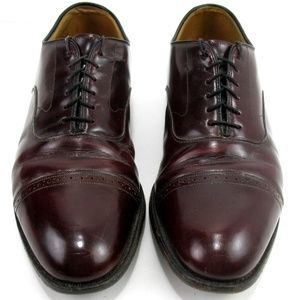 Johnston & Murphy Aristocraft Red Oxfords Sz 11C
